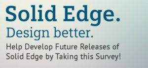 solid edge product development survey