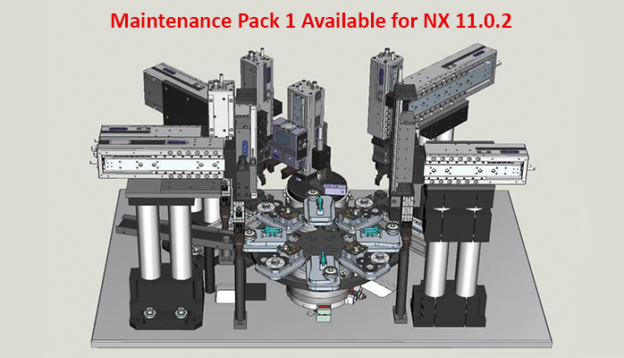 Maintenance Pack 1 Available for NX 11.0.2