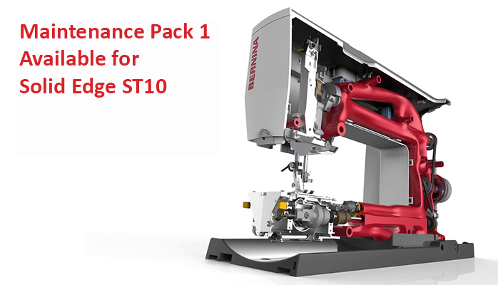 Maintenance Pack 1 Available for Solid Edge ST10
