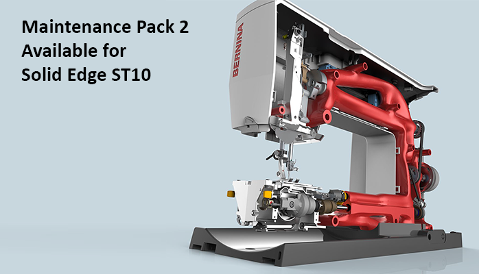 Maintenance Pack 2 Available for Solid Edge ST10