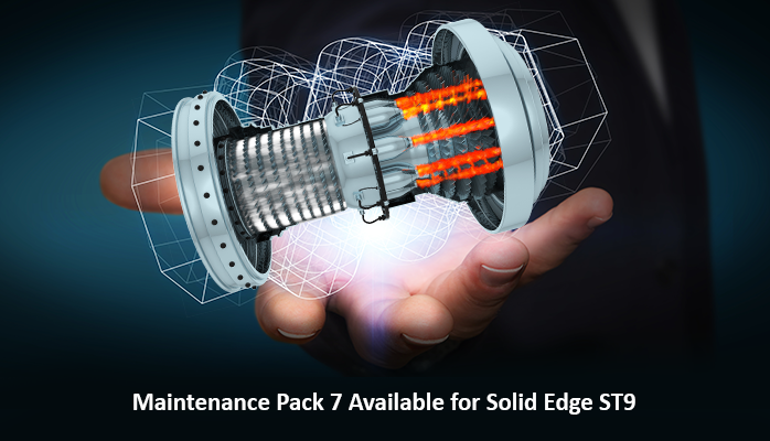 Maintenance Pack 7 Available for Solid Edge ST9