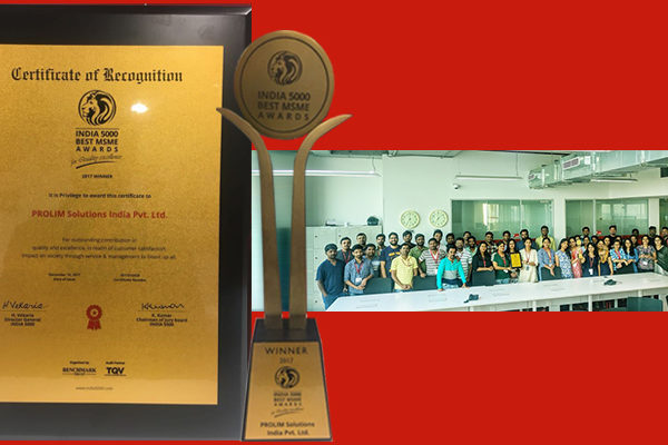 PROLIM wins Best MSME Award 2017_PROLIM