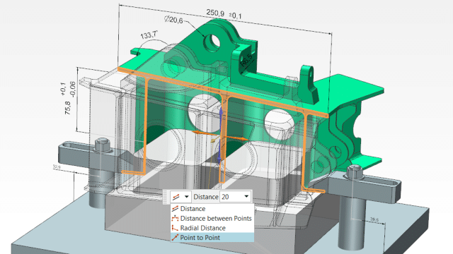 NX CAD Design tools for manufacturing