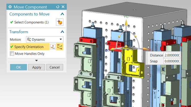 Screenshot of Fully-Integrated CAD Tools