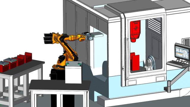 Advanced Robotic Automation with NX CAM