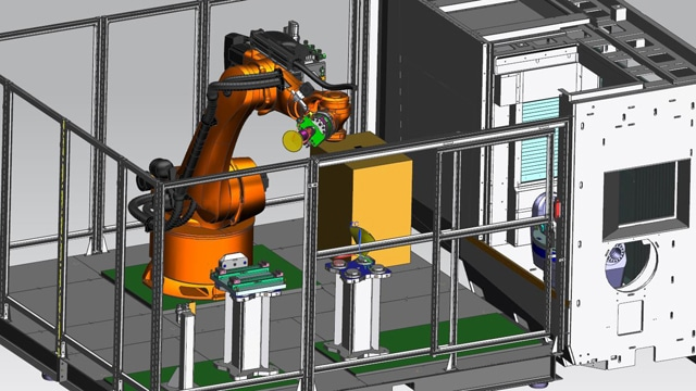 NX program provide fully-automated workcells