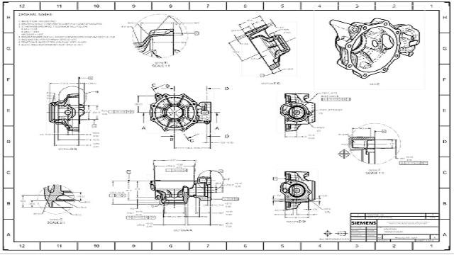 NX CAD Drawings