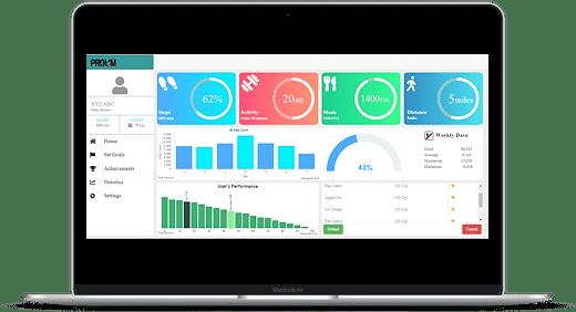 Personal Health Monitoring Dashboard