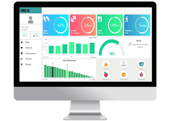 IoT-fitness-dashboard