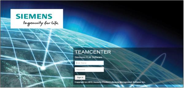 Siemens Teamcenter Configuration Login in Mendix