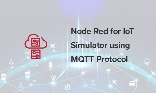 Use the nodes in Node-red to create a flow and add the configuration information.