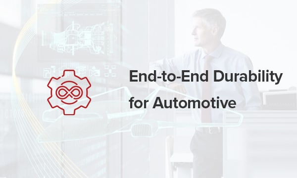 Simcenter End-to-End Durability for Automotive