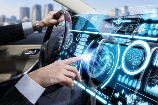 IoT enabled self deiving car