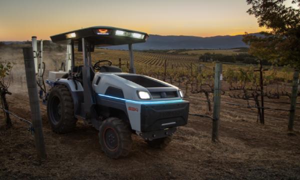 Simcenter electric autonomous tractor