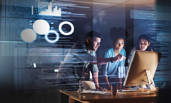 Filling Digital Transformation Gaps with Low-code Applications