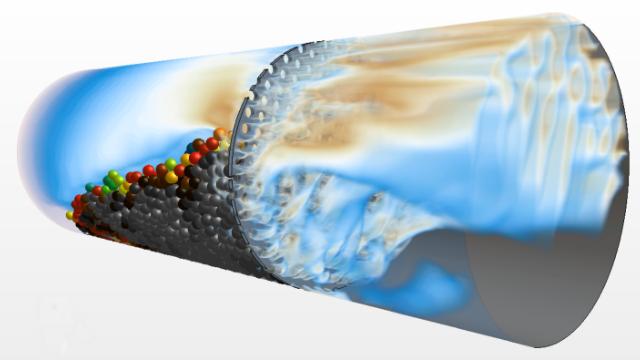Multi-physics simulation